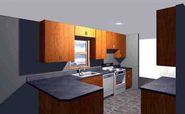 House Plan 71905 with 2 Beds, 2 Baths, 2 Car Garage Picture 1