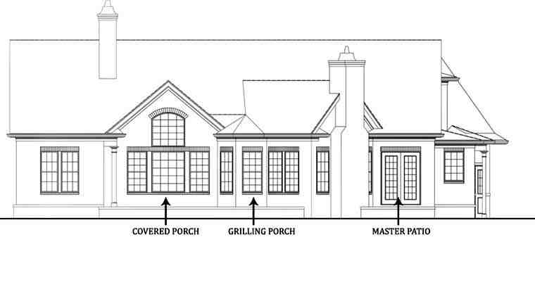 House Plan 72136 with 3 Beds, 3 Baths, 2 Car Garage Picture 1