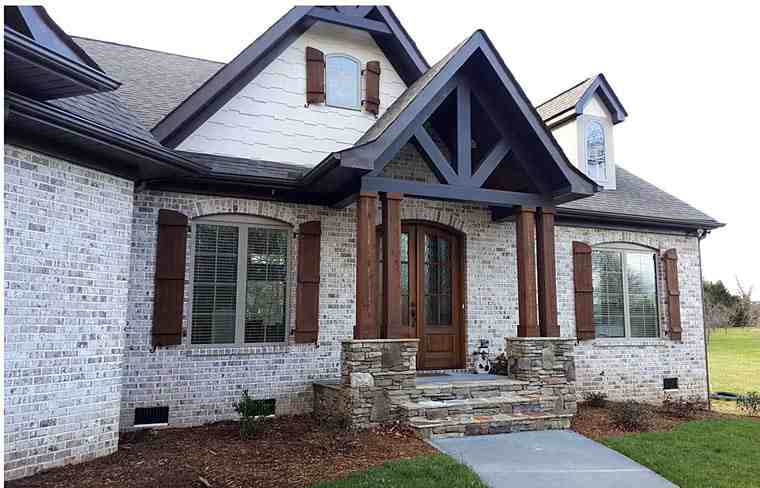 House Plan 72136 with 3 Beds, 3 Baths, 2 Car Garage Picture 3