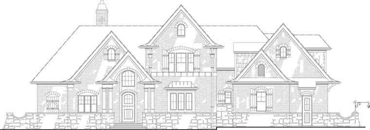 European, French Country, Traditional House Plan 72166 with 3 Beds, 2 Baths, 2 Car Garage Picture 19