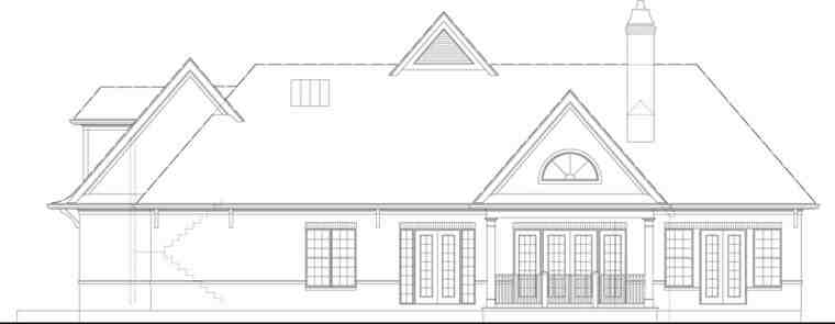 European, French Country, Traditional House Plan 72166 with 3 Beds, 2 Baths, 2 Car Garage Picture 22