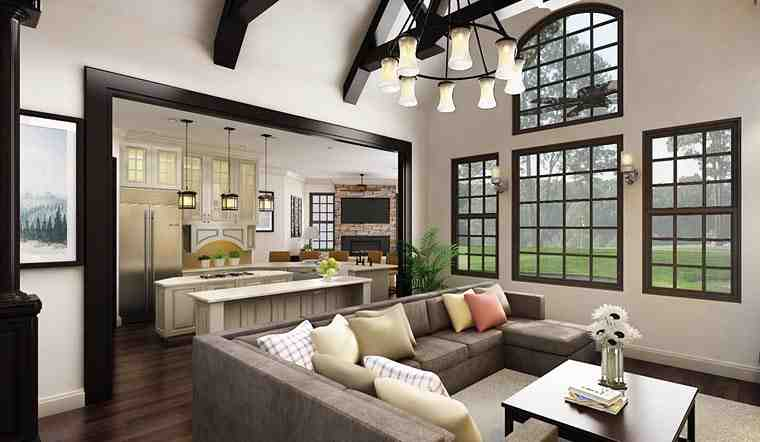 Ranch House Plan 72168 with 3 Beds, 3 Baths, 2 Car Garage Picture 6