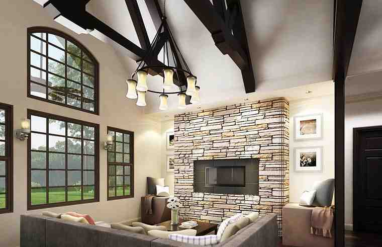 Ranch House Plan 72168 with 3 Beds, 3 Baths, 2 Car Garage Picture 7