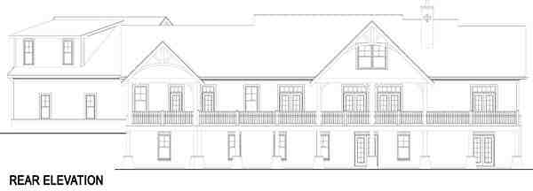 Craftsman, European, Traditional House Plan 72221 with 3 Beds, 4 Baths, 3 Car Garage Picture 3