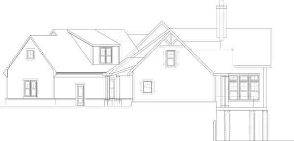 Southern, Traditional House Plan 72245 with 3 Beds, 3 Baths, 3 Car Garage Picture 6