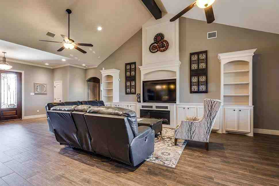 Ranch, Traditional House Plan 72251 with 3 Beds, 4 Baths, 2 Car Garage Picture 6
