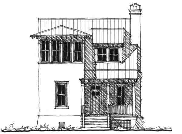 Historic, Southern House Plan 73709 with 4 Beds, 4 Baths Elevation