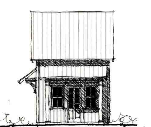 Country, Historic House Plan 73919 with 2 Beds, 2 Baths Picture 1