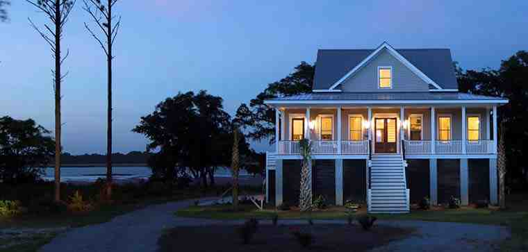Coastal, Southern House Plan 73942 with 3 Beds, 4 Baths, 3 Car Garage Picture 2