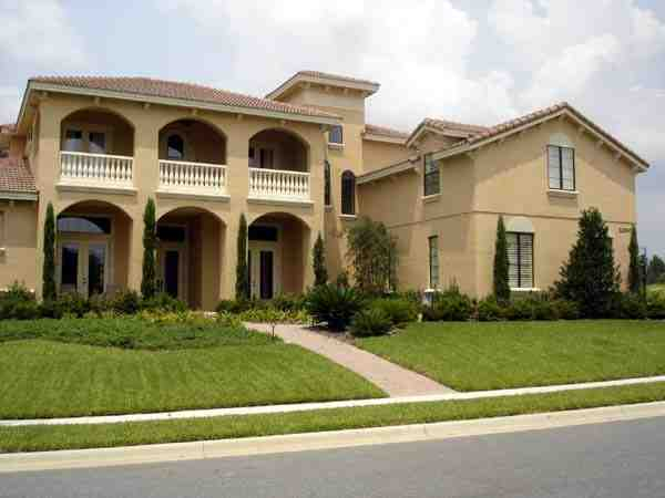 Mediterranean, Southwest House Plan 74230 with 5 Beds, 7 Baths, 3 Car Garage Elevation