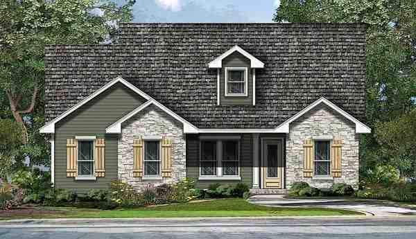 Ranch, Southwest, Traditional House Plan 74508 with 4 Beds, 3 Baths, 2 Car Garage Elevation
