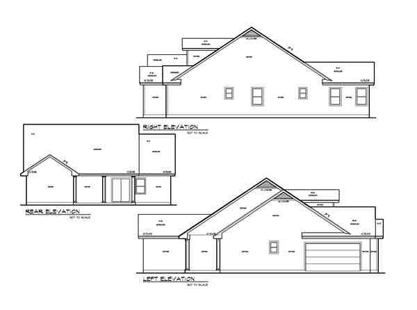Ranch, Southwest, Traditional House Plan 74508 with 4 Beds, 3 Baths, 2 Car Garage Picture 1