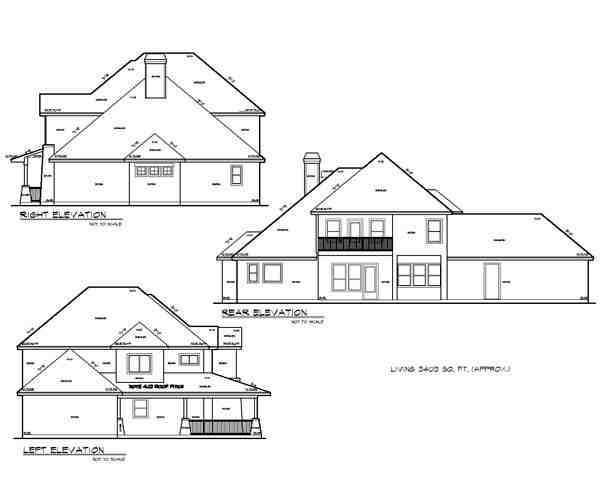 Cottage, Country, Craftsman House Plan 74515 with 4 Beds, 5 Baths, 2 Car Garage Picture 1