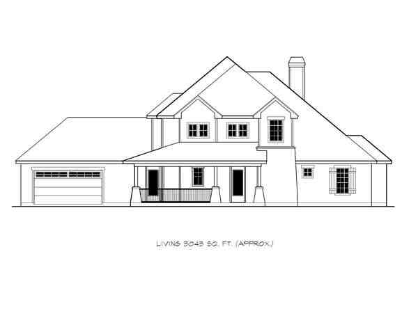 Cottage, Country, Craftsman House Plan 74515 with 4 Beds, 5 Baths, 2 Car Garage Picture 2
