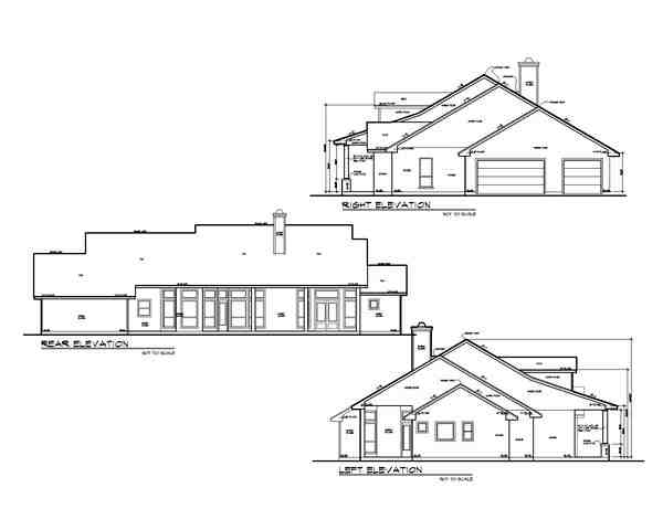 Country, Ranch, Southern House Plan 74551 with 4 Beds, 4 Baths, 3 Car Garage Picture 1
