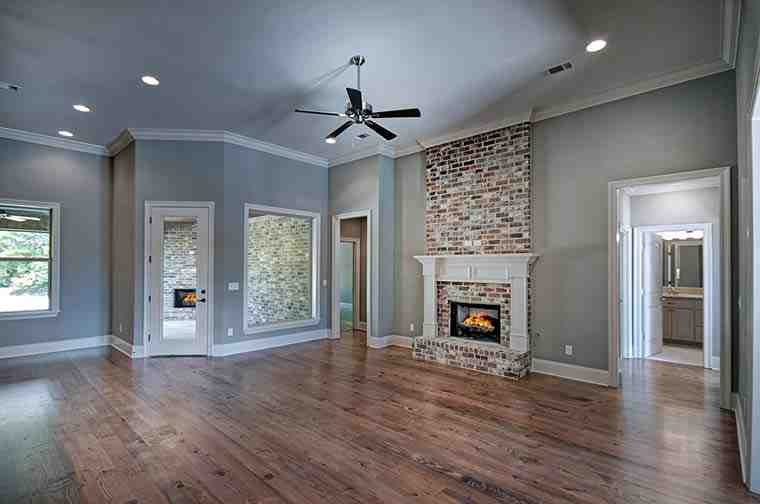 Country, French Country House Plan 74645 with 4 Beds, 3 Baths, 3 Car Garage Picture 5