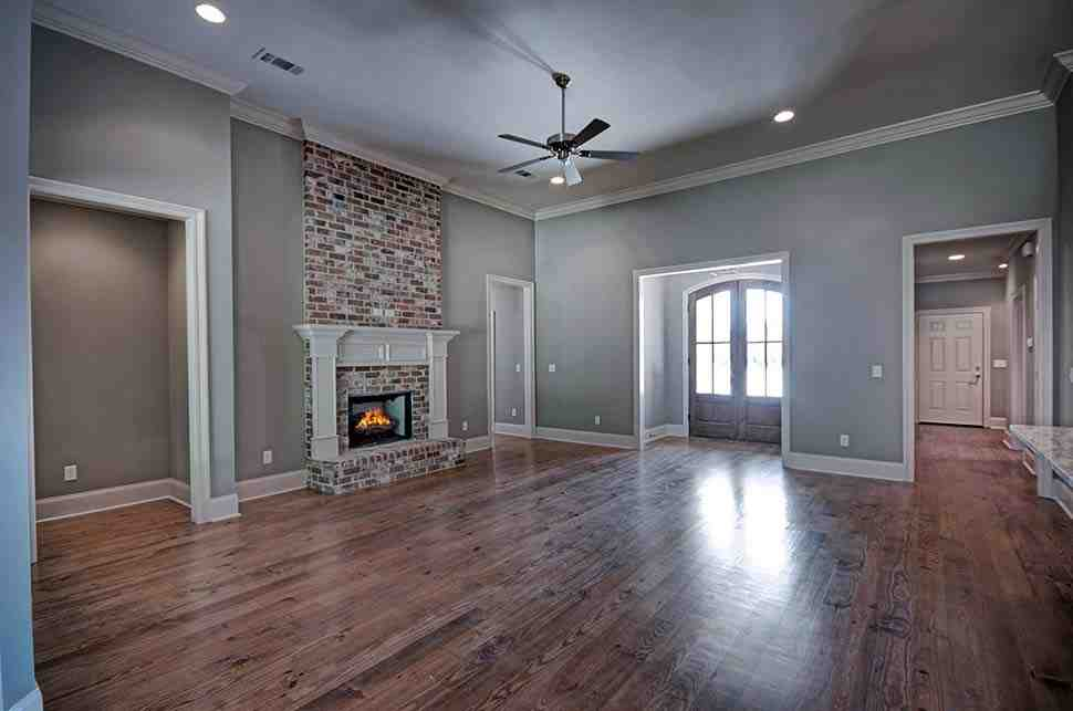 Country, French Country House Plan 74645 with 4 Beds, 3 Baths, 3 Car Garage Picture 6