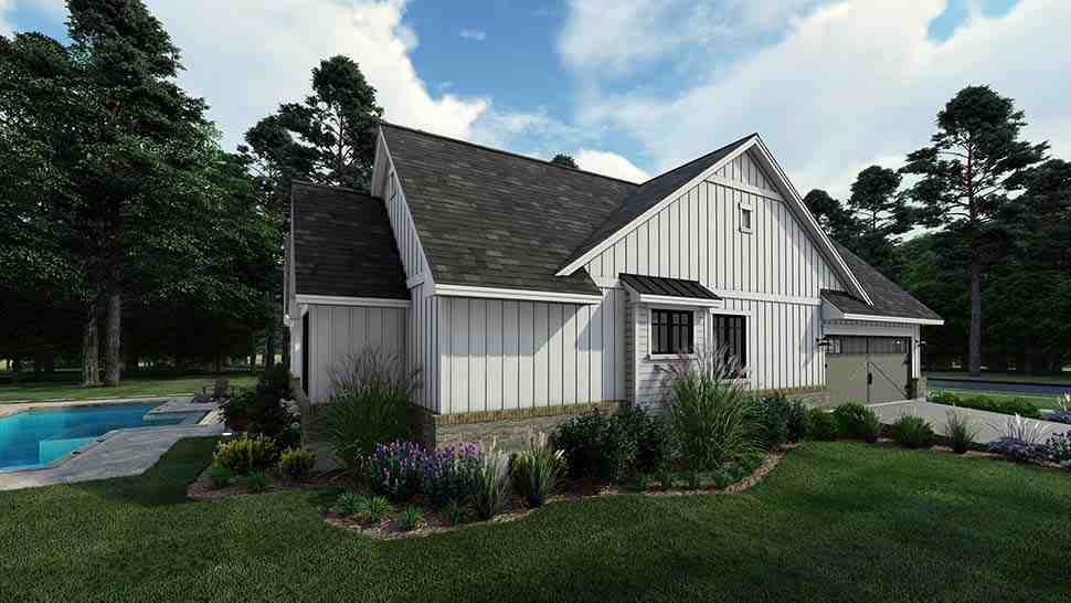 Cottage, Farmhouse, Southern House Plan 75160 with 4 Beds, 3 Baths, 2 Car Garage Picture 6