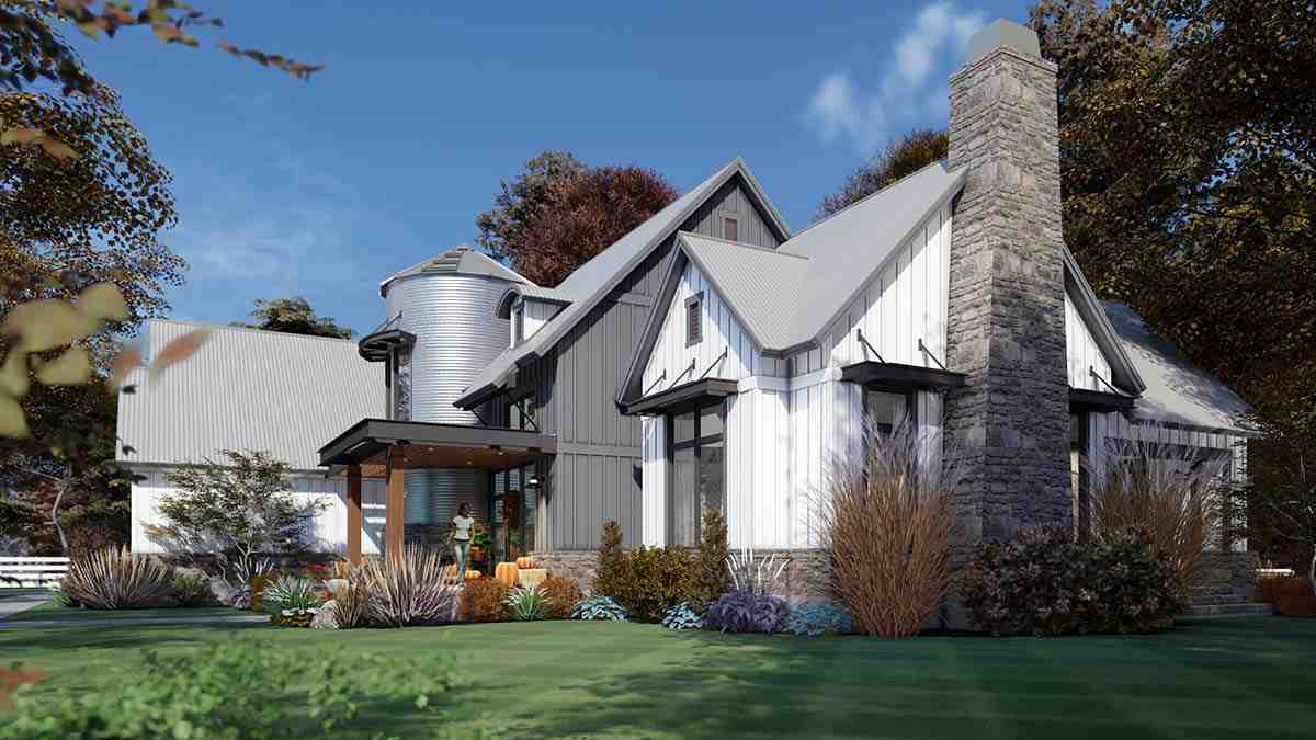 Country, Farmhouse House Plan 75165 with 3 Beds, 3 Baths, 2 Car Garage Picture 1