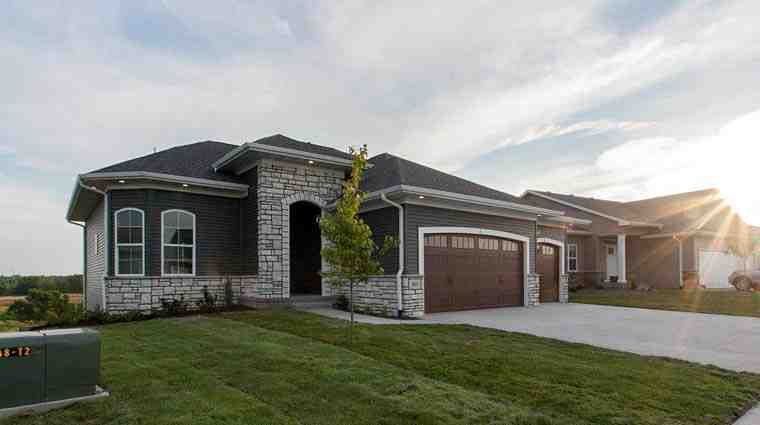 Craftsman, European, Italian House Plan 75234 with 3 Beds, 2 Baths, 3 Car Garage Elevation