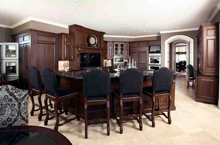 Craftsman, Traditional House Plan 75417 with 4 Beds, 4 Baths, 4 Car Garage Picture 5