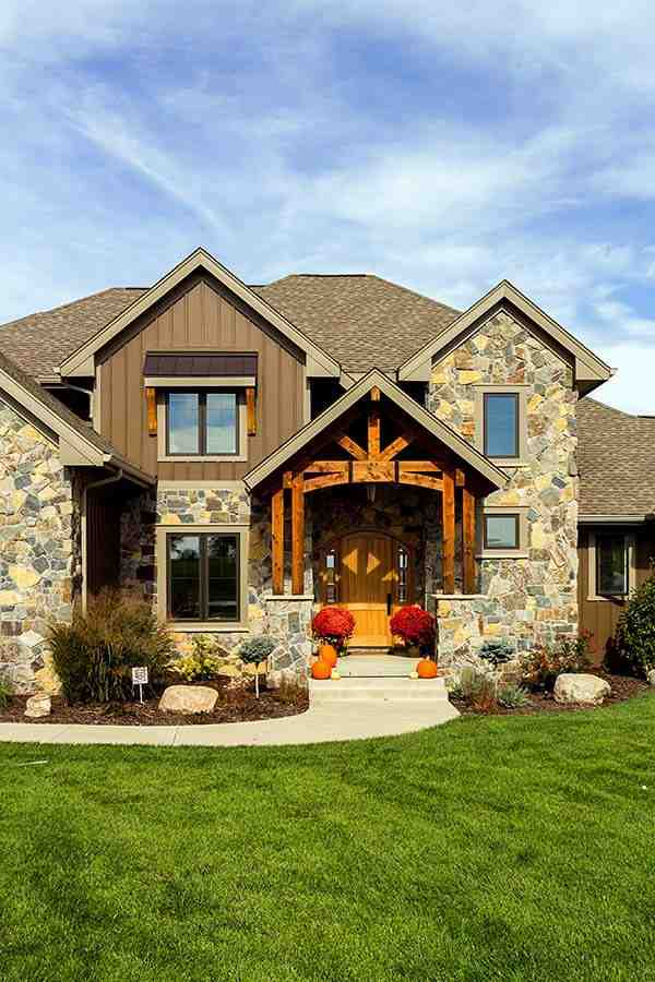 Craftsman, Traditional House Plan 75442 with 5 Beds, 5 Baths, 3 Car Garage Picture 2