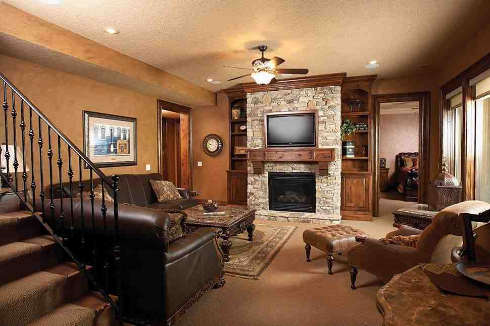 Southwest, Tuscan House Plan 75471 with 4 Beds, 3 Baths, 3 Car Garage Picture 7