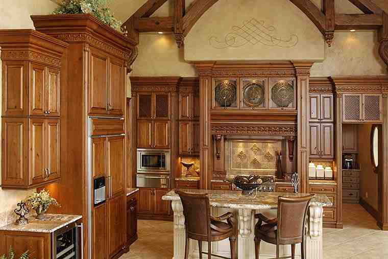 European, French Country, Tuscan House Plan 75492 with 4 Beds, 4 Baths, 3 Car Garage Picture 5