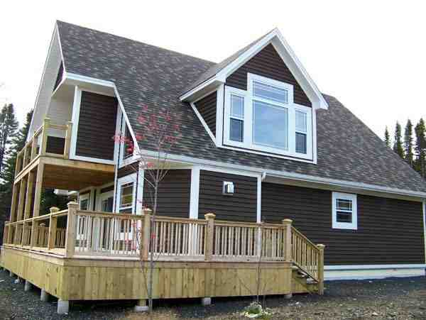 Cabin, Narrow Lot House Plan 76011 with 2 Beds, 2 Baths Picture 3