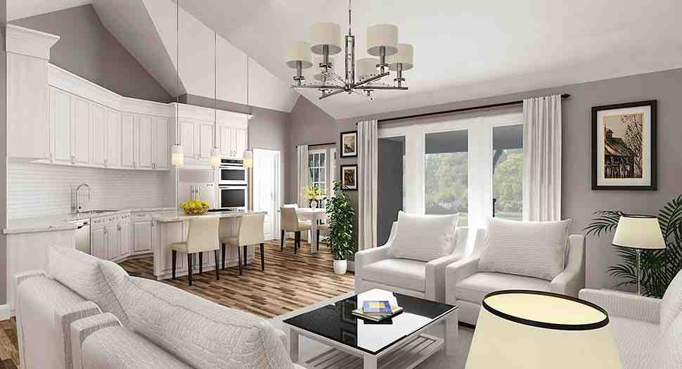 Country House Plan 76933 with 3 Beds, 3 Baths, 2 Car Garage Picture 6