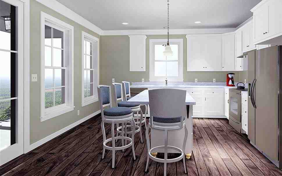 Country, Southern House Plan 77412 with 2 Beds, 2 Baths Picture 6