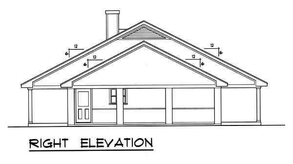 Country House Plan 77759 with 3 Beds, 2 Baths Picture 2