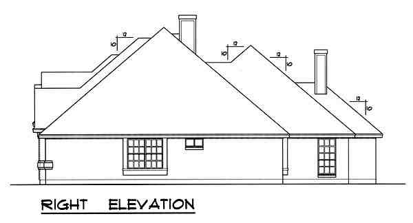 Traditional House Plan 77763 with 4 Beds, 3 Baths, 3 Car Garage Picture 2