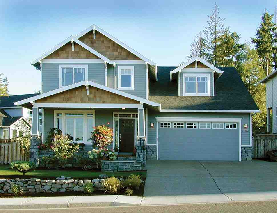 Craftsman, Traditional House Plan 81216 with 3 Beds, 3 Baths, 3 Car Garage Picture 15