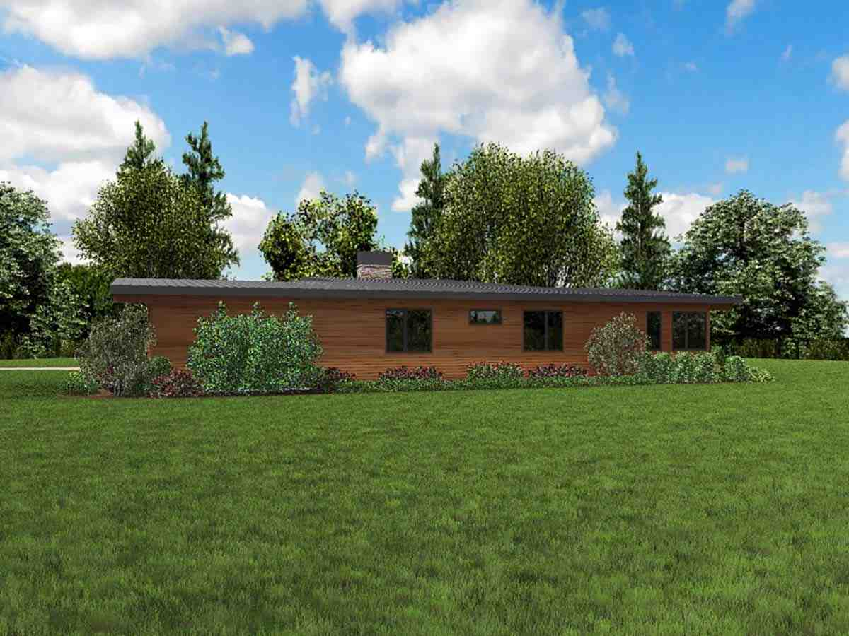 Contemporary House Plan 81224 with 3 Beds, 3 Baths, 2 Car Garage Picture 1