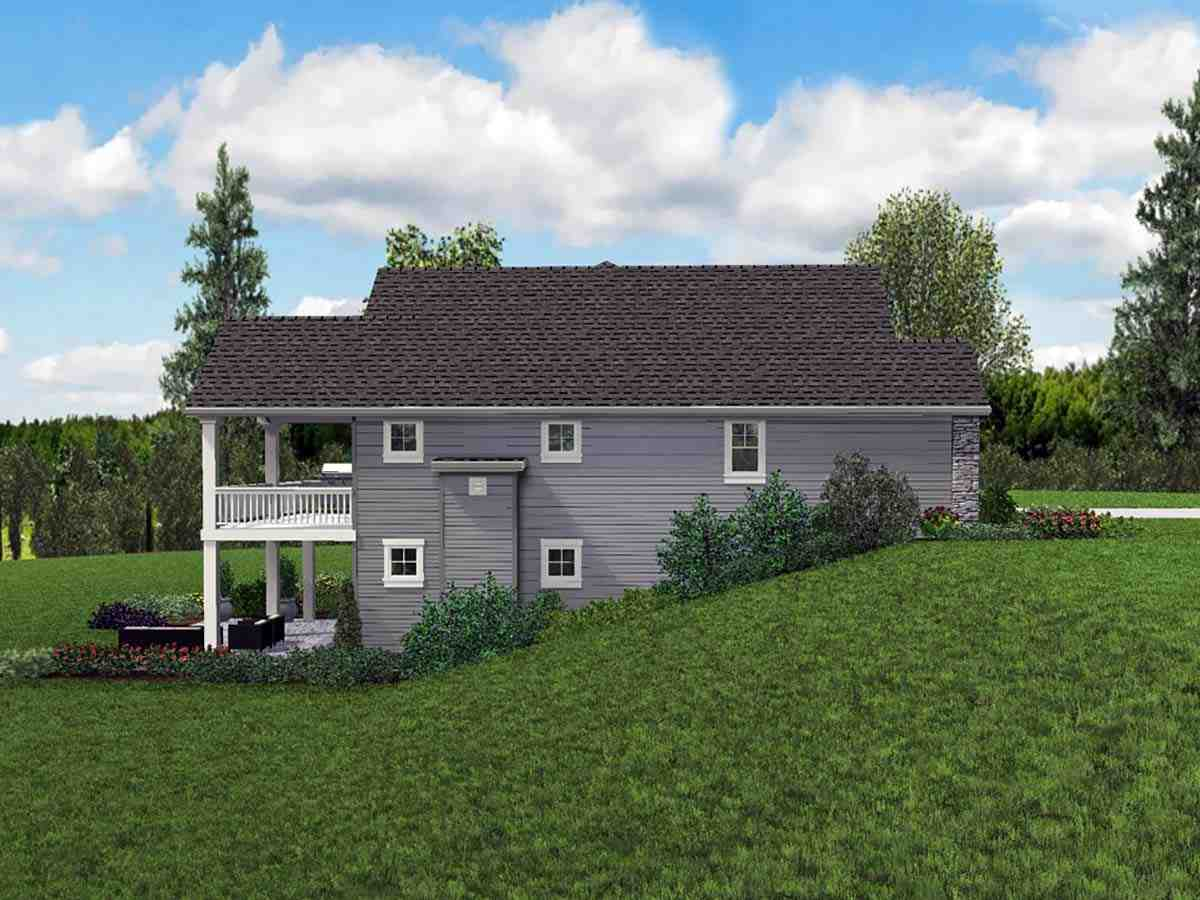 Craftsman, Ranch House Plan 81230 with 5 Beds, 3 Baths, 3 Car Garage Picture 2