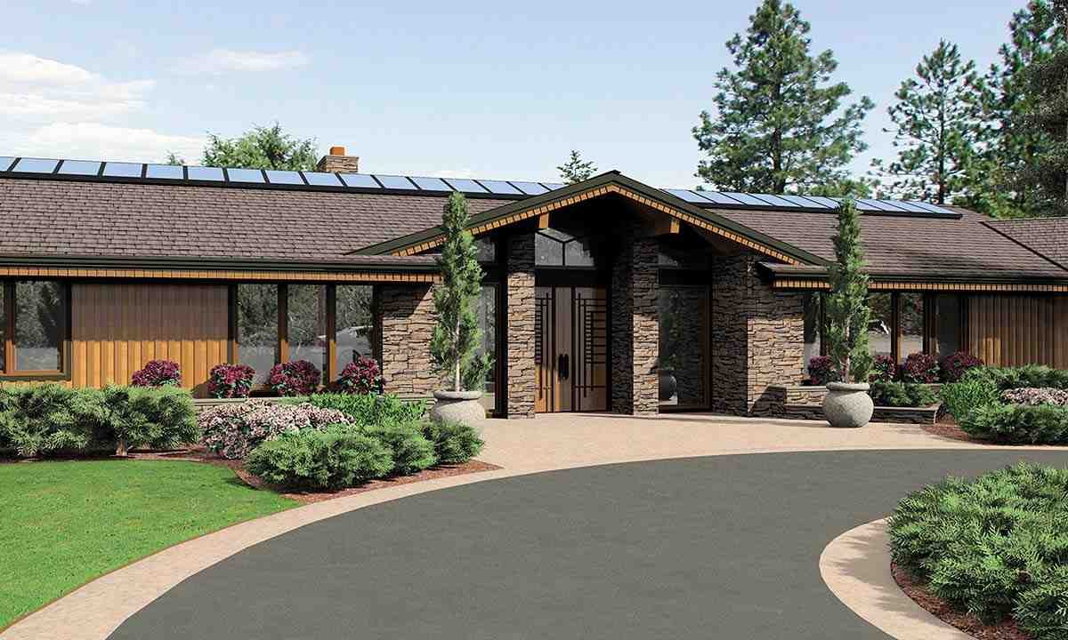 Contemporary, Craftsman, Farmhouse House Plan 81261 with 5 Beds, 6 Baths, 3 Car Garage Picture 1