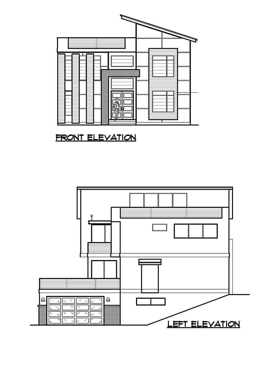 Modern House Plan 81921 with 4 Beds, 4 Baths, 2 Car Garage Picture 23