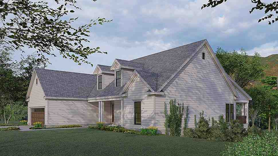 Traditional House Plan 82580 with 3 Beds, 4 Baths, 2 Car Garage Picture 1