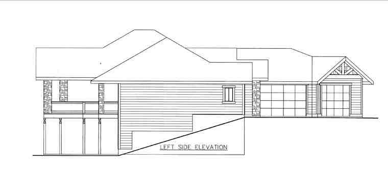 House Plan 85843 with 4 Beds, 4 Baths, 3 Car Garage Picture 1