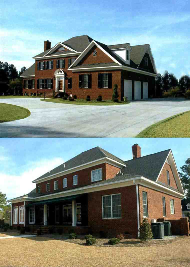 Colonial, Plantation House Plan 86207 with 4 Beds, 5 Baths, 3 Car Garage Picture 12
