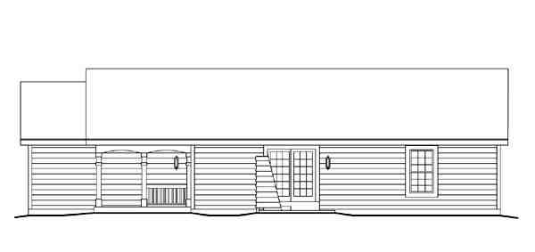 Cabin, Cottage, Ranch, Traditional House Plan 86988 with 3 Beds, 2 Baths, 2 Car Garage Picture 2