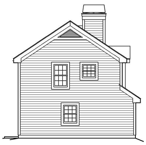 Cabin, Cottage, Country, Ranch, Traditional 2 Car Garage Apartment Plan 87891 with 1 Beds, 1 Baths Picture 1
