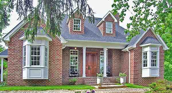Cottage, Country, Ranch House Plan 90649 with 3 Beds, 3 Baths, 1 Car Garage Elevation