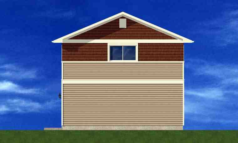 3 Car Garage Plan 90881 Picture 2