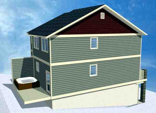 Multi-Family Plan 90887 with 8 Beds, 8 Baths, 2 Car Garage Picture 2