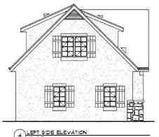 3 Car Garage Apartment Plan 94342 with 1 Beds, 1 Baths Picture 1