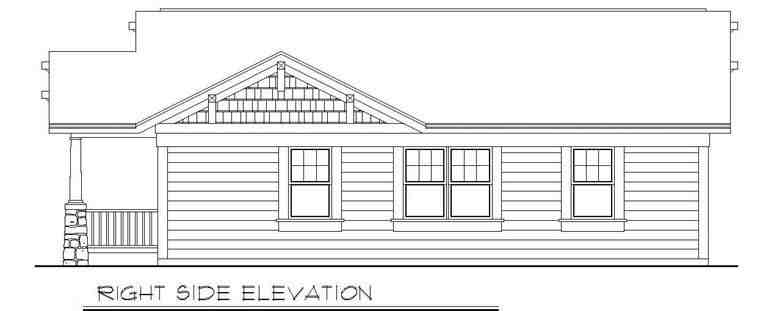 Cottage, Country, Craftsman House Plan 94371 with 3 Beds, 2 Baths Picture 2