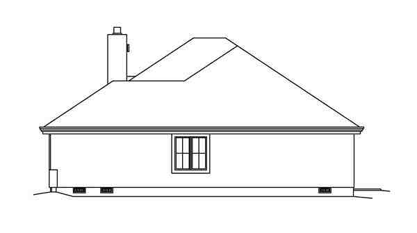 Contemporary, Florida, Ranch, Southwest House Plan 95858 with 3 Beds, 3 Baths, 2 Car Garage Picture 2