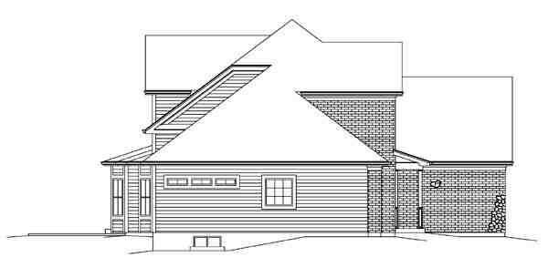 Country, Craftsman, Traditional House Plan 95898 with 3 Beds, 3 Baths, 2 Car Garage Picture 1